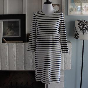 Madewell Striped Knit Dress